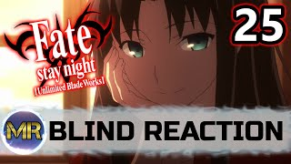 Fate Stay Night Unlimited Blade Works ( UBW ) Episode 25 Blind Reaction - PERFECT ENDING!