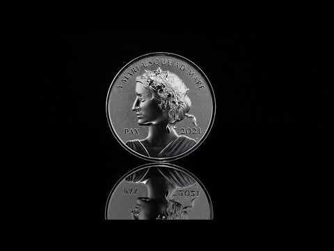 2021 $1 Fine Silver Coin - Peace Dollar
