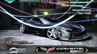 Top Speed Faster cars Need For Speed ​​Carbon | Carros Mais rápidos Need For Speed Carbon