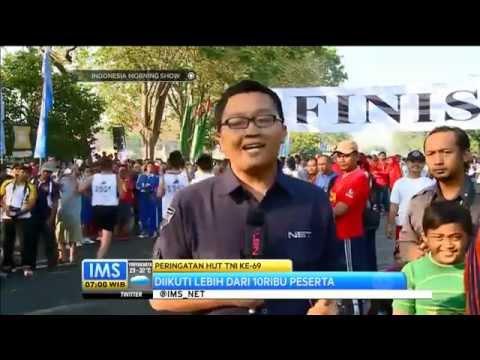 Lomba Lari Maraton 10 km di Suraya Diikuti Ribuan Peserta -IMS