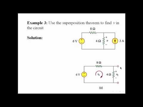 Superposition Theorem - 3 Examples