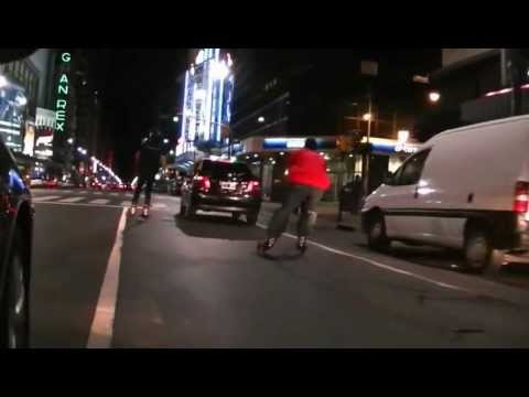 "LandRoller Argentina ""Urban Rides"" patinando en Buenos Aires"