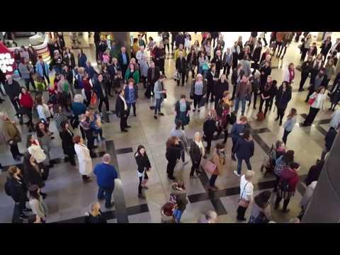 Love Soul Flashmob Westquay Southampton