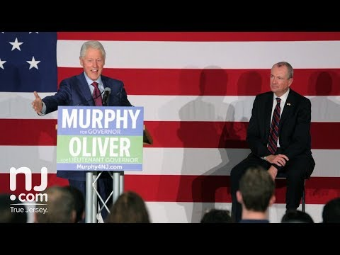 FULL SPEECH: Bill Clinton stumps for NJ gubernatorial candidate Phil Murphy