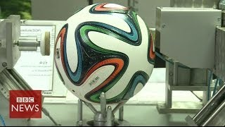 Brazuka: Official World Cup ball to be used in Brazil - BBC News