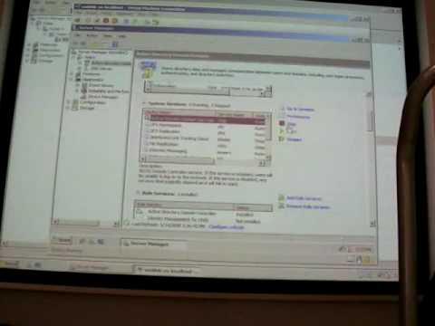 Управление системой: Server Manager,  MMC 3.0, Windows Eventing 6.0, Windows Task Scheduler 2.0. Часть 1