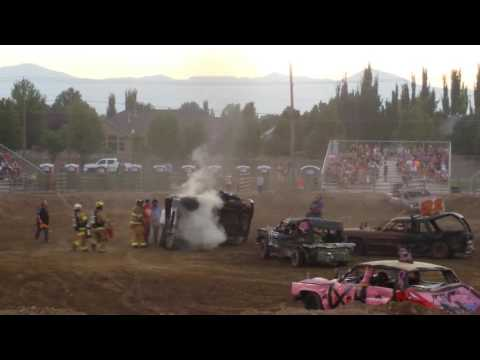 Utah demolition derby south Jordan utah 2016