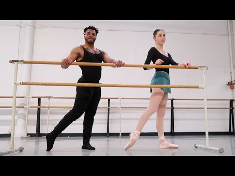 Vegan Bodybuilder Does Ballet
