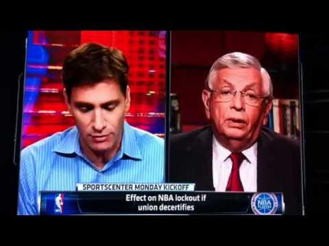 ESPN NBA Lockout Footage