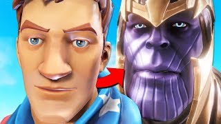 *GLITCH* BECOMING THANOS IN FORTNITE?! | Fortnite Funny & Epic Moments#22