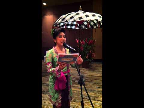 MC Bali Gilda Sagrado Master Of Ceremonies
