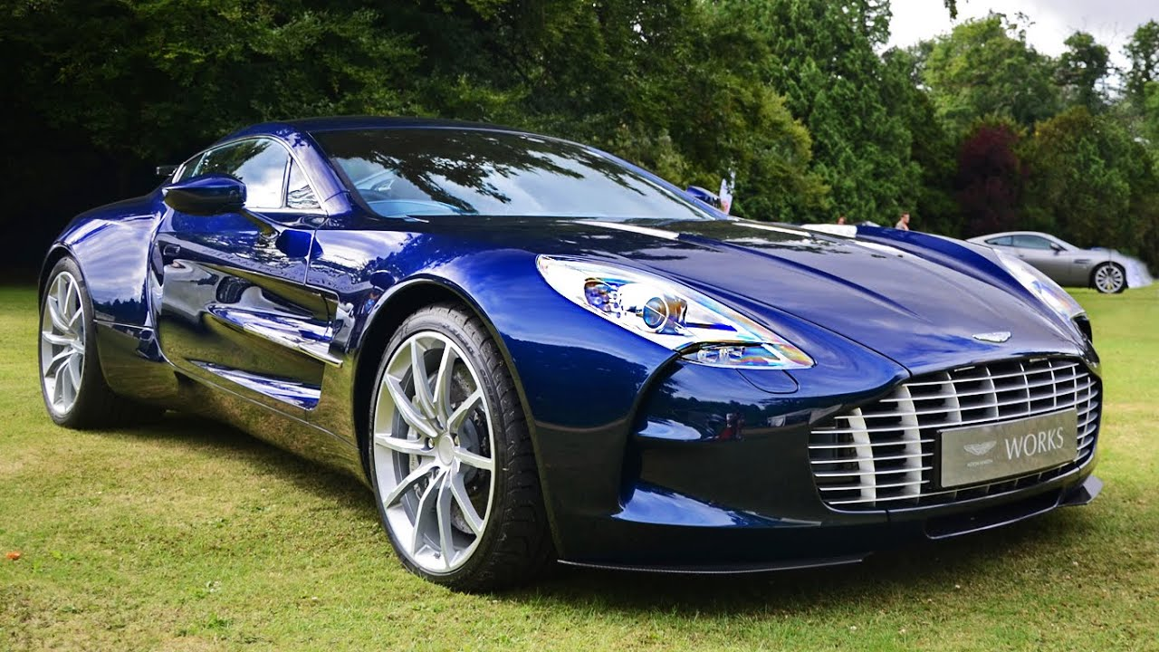Aston Martin One 77 Sounds At Wilton Classic Amp Supercar