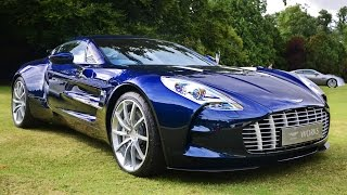 Aston Martin One-77 - Sounds at Wilton Classic & Supercar show 2013