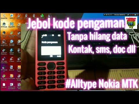 Nokia rm 1190 atau Nokia 150 kasus lupa kode pengaman, karena terlalu rumit didalam menyetel kode sa.