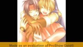 that was my AMV on the program ProShow Gold short slideshow Song : Happy - Kusumi Koharu - Kirarin Revolution OP opening anime : Chrono Crusade ...