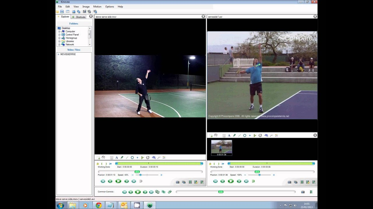 Tennis Video Analysis Using Free Software By Karl Stowell Youtube