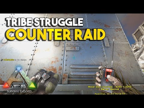 COUNTER RAID/ BOSS FIGHT!!! RAGNAROK - TRIBE STRUGGLE S2E9 |