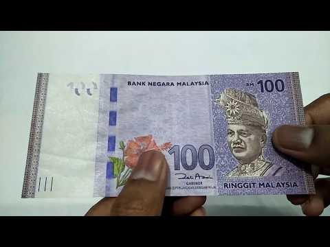#  Malaysia Ringgit RM 100