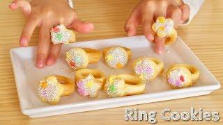 Ring Cookies 💍 | OCHIKERON | Create Eat Happy :)