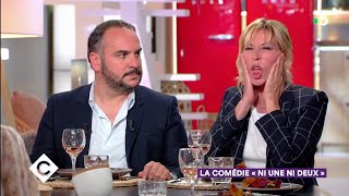 Au dîner avec Mathilde Seigner et François-Xavier Demaison ! - C à Vous - 24/05/2019