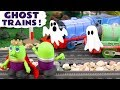 Funny Funlings Ghost Train with King Funling - A fun story for kids