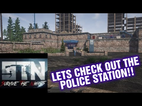 SURVIVE THE NIGHTS INSIDE THE POLICE STATION !!