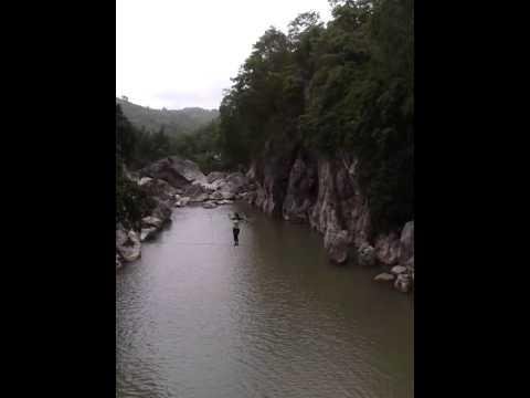 MADLUM RIVER, SAN MIGUEL BULACAN PH (HANGING BRIDGE)