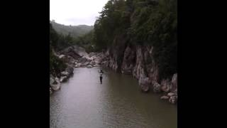 MADLUM RIVER, SAN MIGUEL BULACAN PH (HANGING BRIDGE)