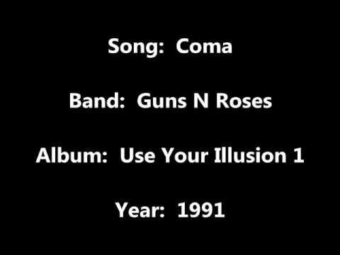 Guns N Roses - Coma (Audio)
