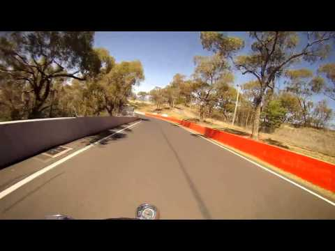 Mt Panorama race track at Bathurst