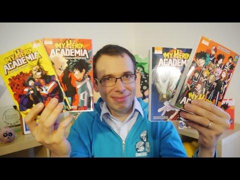 Avis sur My Hero Academia [2 minutes pour un manga] Shônen manga [Les chroniques de Morgan]