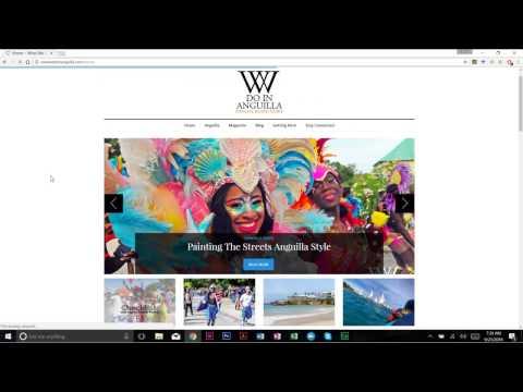 What We Do In Anguilla Online Magazine Tutorial