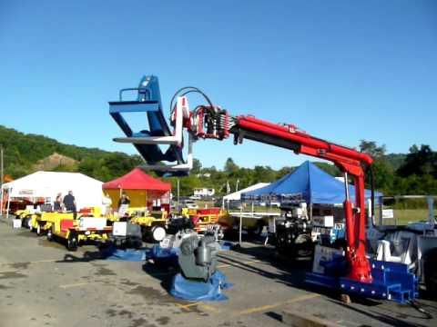 Miner's Helper LLC Coal Mine Arm At The 2007 Bluefield WV Coal Show