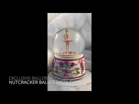 Ballerina Snowglobe Nutcracker Ballet Gifts