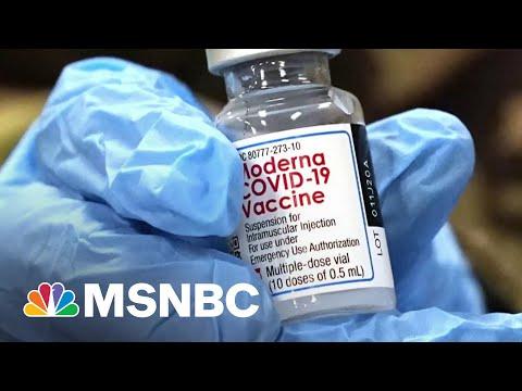 Moderna Asks FDA For Full Approval Of Vaccine