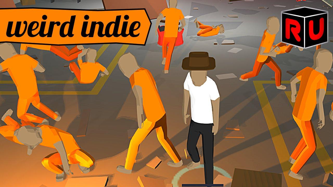 Prisonbrawl Is A Free Ragdoll Fighting Game From Super Footbrawl S Dev Pc Gameplay Youtube