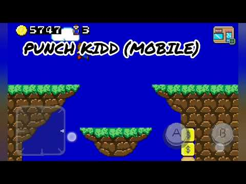 Gameplay Alex Kidd (Master System) Vs Punch Kidd (Android) + Download Punch Kidd