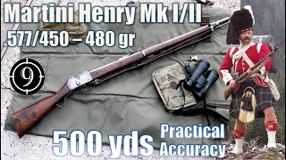 Martini Henry Mk I/II to 500yds: Practical Accuracy (feat. British Muzzleloaders - Rob)