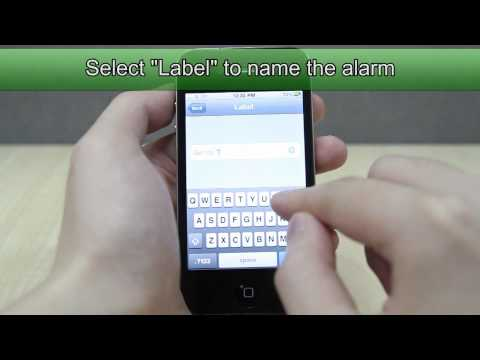 How To Set The Alarm On Apple Iphone