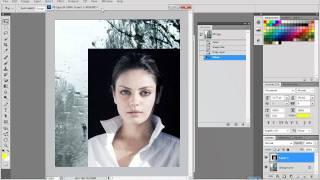 Урок фотошоп  Наложение картинки на картинку 1 Урок(, 2012-02-03T15:26:57.000Z)