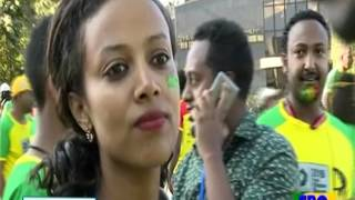 Funny Moment On Ethiopian Great Run