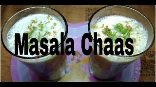 Masala Chaas || Masala Butter Milk || Spiced Butter Milk ||( Summer Special )