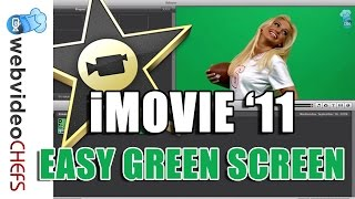 How to Green Screen in iMovie