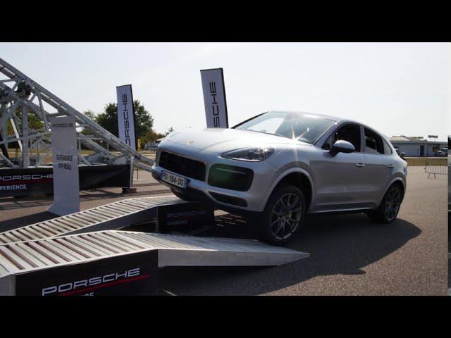 Road show du Centre Porsche Rennes au centre de formation Centaure Bretagne