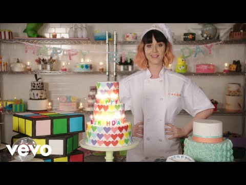 Katy Perry Birthday Lyric Video YouTube