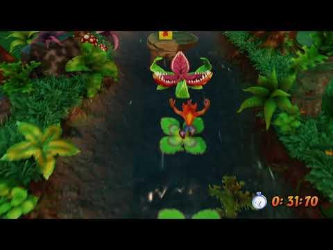 Crash Bandicoot PS4 CONSEGUIR RELIQUIA ORO (UPSTREAM)