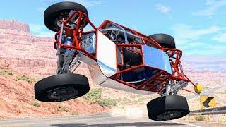 Loss of Control Crashes #9 – BeamNG Drive
