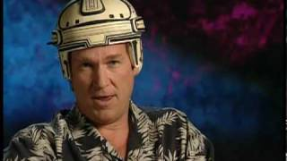 Jeff Bridges Puts on the TRON Helmet
