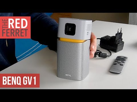 BenQ GV1 Portable Projector - First Look!