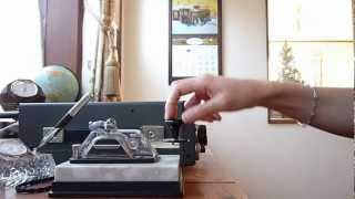 Japanese Morse Code  Hand Sending  和文 HI-MOUND HK-808